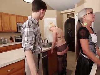 Mother with the addition of Stepsis Three-Way after brainwash - Leilani Lei Fifi Foxx