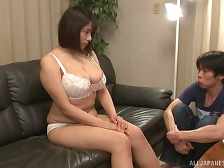 Dude can't get enough of eating abroad Fat Haruna Hana