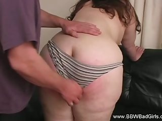Her Big Posterior Gets Red With BDSM Be innovative In her Kitchen