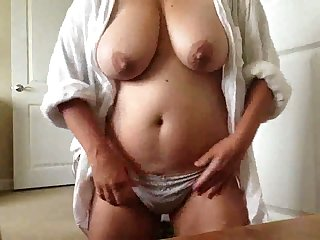 This webcam model's tits are great and I'd fuck them hard given half the fortune