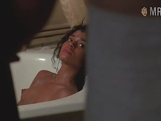 Fans of Angel Heart and Lisa Bonet firmness enjoy some gut flashing scene