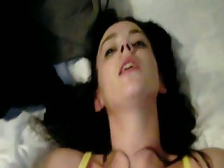 This young slut wants some dark meat and she's got hot fellatio capability faculty