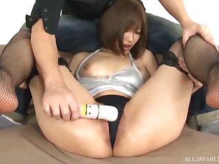 Japanese chick with an awesome body will make you ejaculate fast