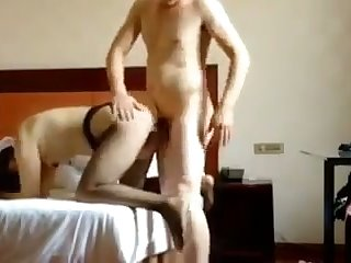 This slut is a sub oriented whore and she loves getting fucked mish style