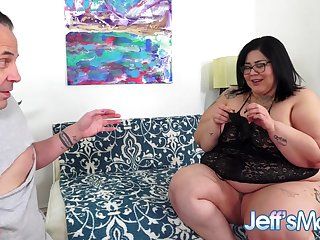 SSBBW Crystal Blue Is a Perverted Panty Fetishist Who Wants Her Ass Fucked