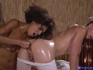 Luna Corazon reaches erotic heights with sexy festival masseuse